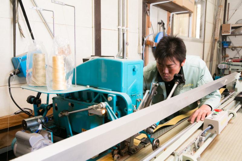 畳・ヘリ縫い・ランハート(株)