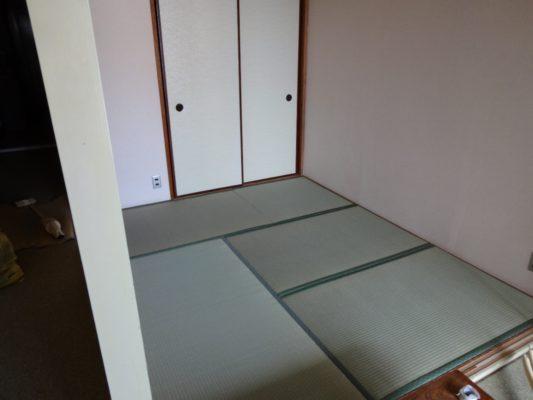 熱海一般家庭新畳