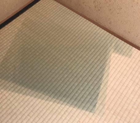 家具の跡 畳のシミや汚れの処置法 ランハート株式会社