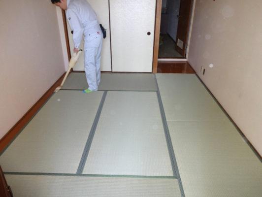 お掃除の方法その一 畳のおそうじ十一か条 ランハート株式会社