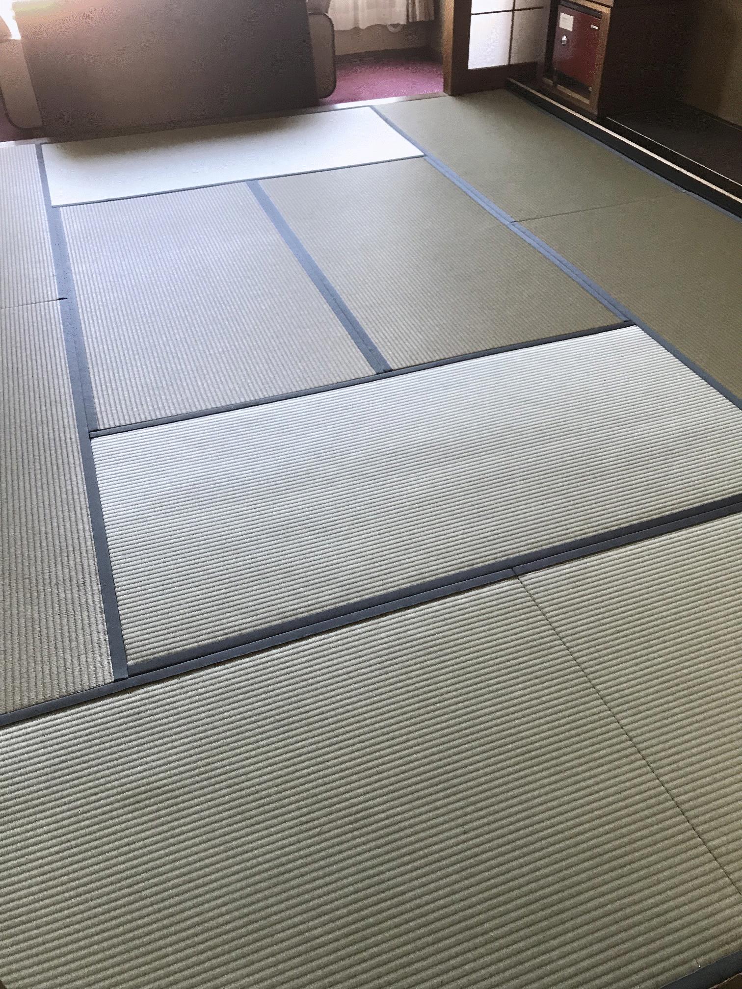 畳敷き込み・新畳・ホテル