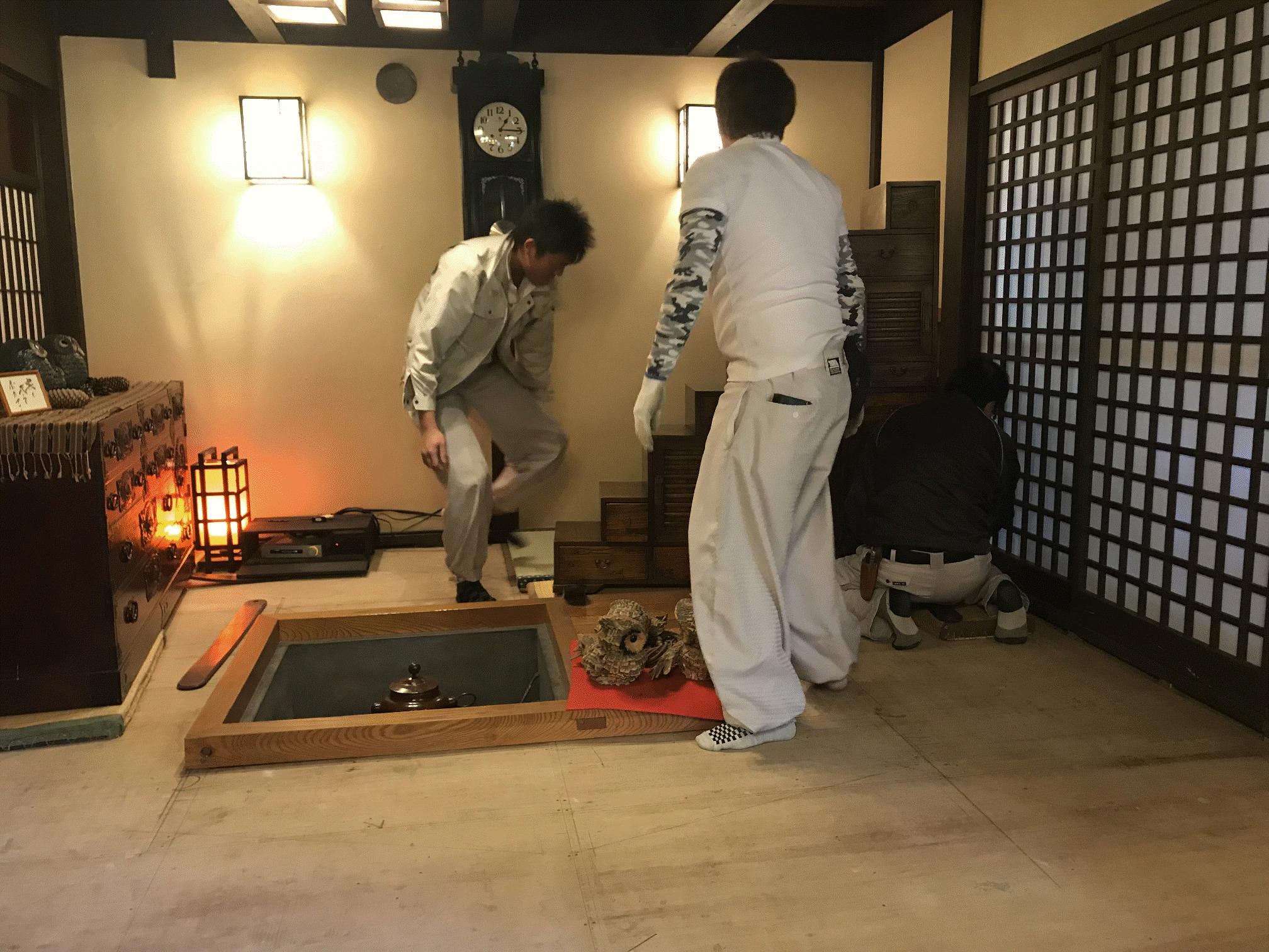 畳敷きこみ・カグスベール・旅館・新畳