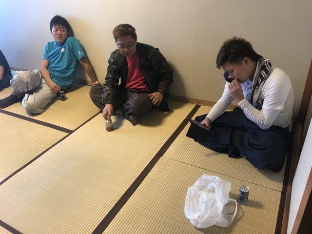 熱海・畳・表替・ホテル・現場作業・休憩