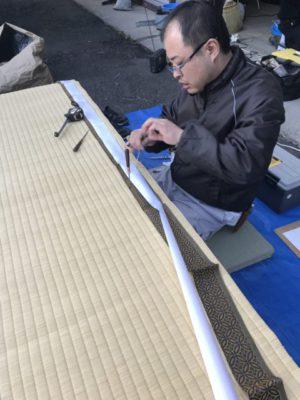 畳製作・ランハート(株)・梅園工場・職人・ゴザ・床の間