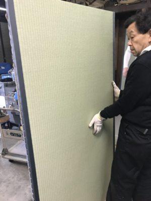 畳製作・ランハート(株)・梅園工場・職人・新畳