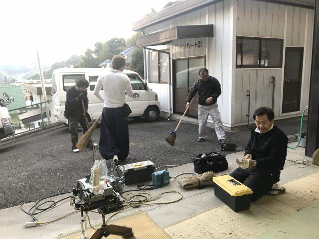 畳製作・ランハート(株)・梅園工場・職人