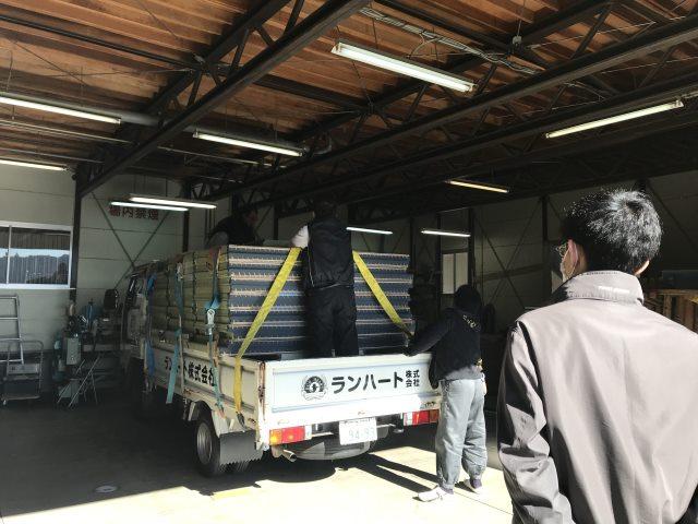 ランハート株式会社・新畳・輸送