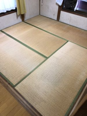 ランハート株式会社・畳替え・古床・新畳