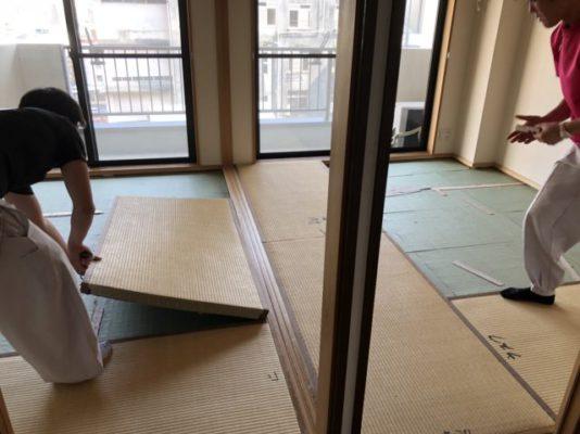 ランハート株式会社・コルト山田ビル・表替・6帖・2部屋・12帖