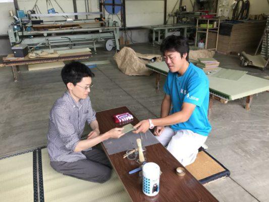 ランハート株式会社・畳コースター・体験・熱海マルシェ・第30回・花台・2018年5月26日
